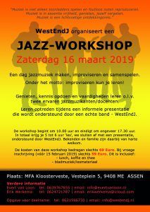 Jazz-workshop @ MFA Kloosterveste